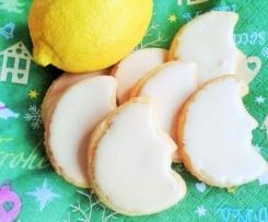 Weihnachtliche Zitronenplätzchen