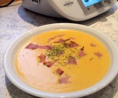 MöPa-Cremesuppe mit Möhren und Pastinaken