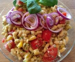 Kartoffelspätzle-Salat
