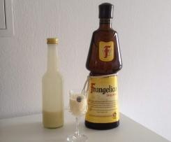 Eierlikör mit Frangelico / Haselnuss Likör