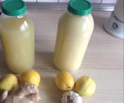 Knoblauch Zitronen Drink