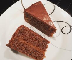Schokoladenschnittentorte