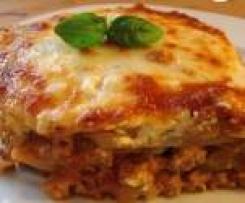 Kohlrabi Lasagne - Low Carb