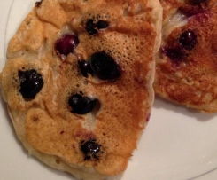 Vegane Blaubeer- Pancakes