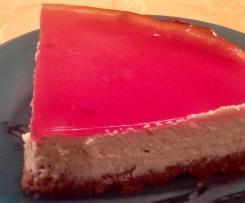 Spekulatius-Cheesecake mit Cranberrygelee