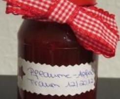 Göttliche Pflaumen-Apfel Marmelade