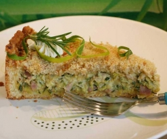Herzhafte Zucchini-Quiche