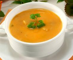Kürbissuppe extra cremig