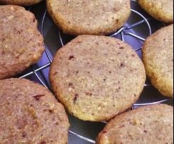 Haferkleie Kekse