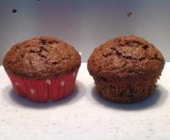 Vollwert Schoko-Muffins
