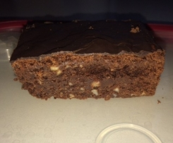 American Chocolate Brownies - klebrige, nasse Brownies
