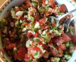 Türkischer Shepard's Salat