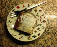 Honigkuchen Pfefferkuchen vom Blech
