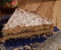 Variation Apfel-Streuselkuchen-Ruck Zuck
