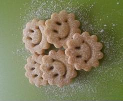 Marzipan - Mürbteig für Spitzbuben