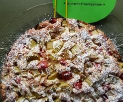 RuckZuck-Rhabarberkuchen