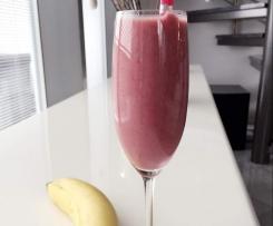 Kirsch - Bananen Kokosmilch Shake