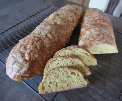 Möhren-Frischkäse Baguette