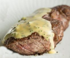 Das perfekte Steak mit Sauce BÉARNAISE