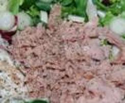 Variation von Tunfischsalat