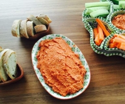Cashew-Paprika Dip/Aufstrich