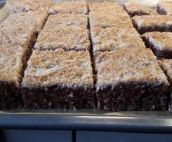 Schneller Schoko-Kokos-Kuchen