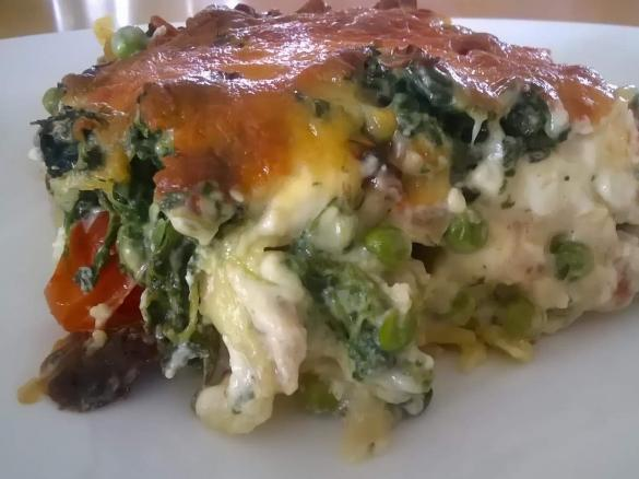 Lasagne Spinat Lachs Feige Von Fett For Fun Thermi Ein