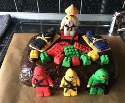 Motivtorte Lego Ninjago