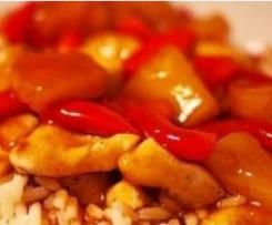 Chinesisch Süß saure Soße