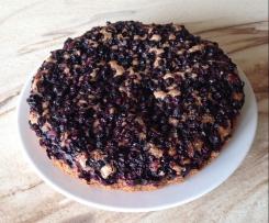 Schoko-Blaubeer-Kuchen oder mit Kirschen