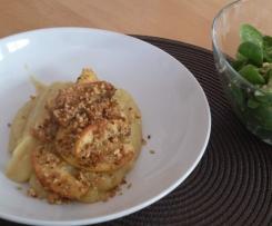 Kartoffelbrei mit Linsen, lecker&vegan