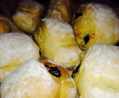 Ciabattabrötchen mit Oliven