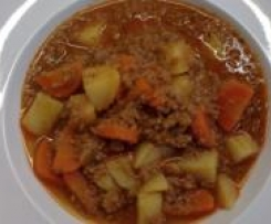 Rezept kartoffeln karotten hackfleisch