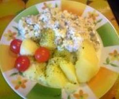 Heringssalat mit Äpflen, Ananas und Gürkchen....einfach nur lecker ;-)