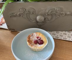 Käsekuchen - Muffins mit und ohne Früchte