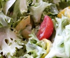 Salatdressing für den Vorrat