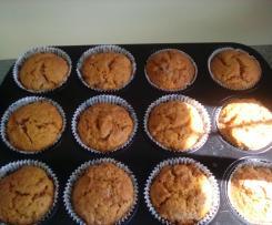 Karotten Muffins (vegan)