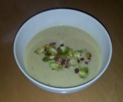 Rosenkohl-Kartoffelsuppe