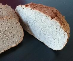 Dinkel Roggen Chia Brot