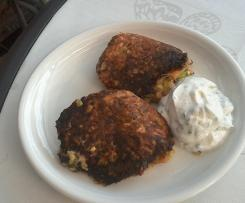 Zucchiniküchlein griechischer Art