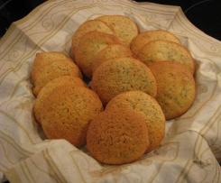 Orangen-Mohn-Kekse