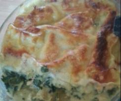 Feine Lachs Lasagne