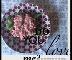 Fleischsalat mit Roter Bete