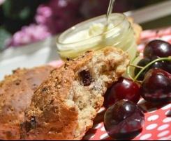 Schnelle Müsli Brötchen mit Cranberries