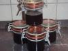 Kirschsaftgelee/ Kirschgelee/ Restverwertung von Kirschsaft aus dem Glas