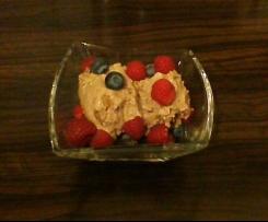 Frozen Chocolate Joghurt mit Cookies