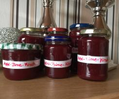 Apfel-Birnen-Kirsch Marmelade
