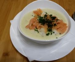 Kartoffel - Blumenkohl - Suppe