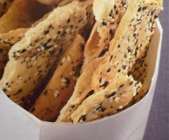 Sesam-Mohn-Kräcker - aus internationale Rezeptwelten -