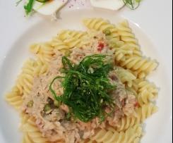 Gerrys schnelle Thunfisch-Räucherlachs-Pasta